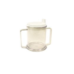 Transparent Mug w/ 2 Handles